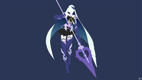 brynhildr fate grand order minimalist wallpaper by