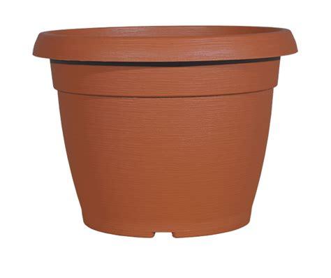pot de fleur plastique 3983 pot de fleurs coloris terre cuite poterie pots de