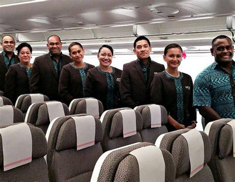 Fiji Airways Cabin Crew by 5 Reasons To Fly Fiji Airways