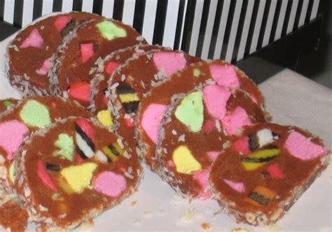 new zealand lolly log cake recipe food com