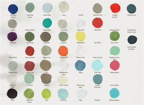milk paint color chart handy home design here is a current chart of all amy howard one step paint