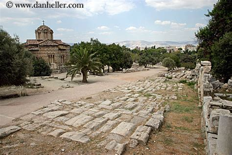 ancient greek roads ancient road to byantine church
