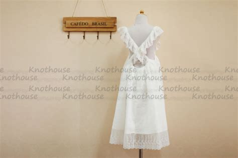 shabby chic flower dresses shabby chic lace cotton flower dress baby