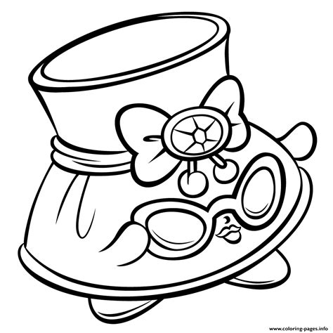 coloring pages of shopkins season 3 hat shady and sunglasses shopkins season 3 coloring pages