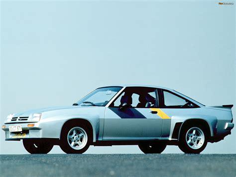 Opel Manta 400 Opel Manta 400 B 1981 84 Photos 1600x1200