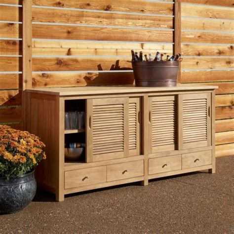 outdoor buffet cabinet sideboard outdoor cabinet all weather patio modern ideas sideboards and buffet tables country