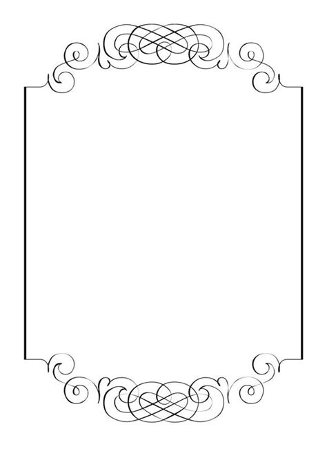 Wedding Sign Border by Free Printable Blank Signs Free Vintage Clip Images
