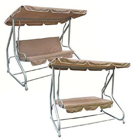redwood 3 seater swing hammock bed