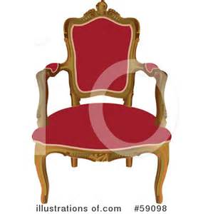 Royalty Chair by Chair Clipart 59098 Illustration By Frisko