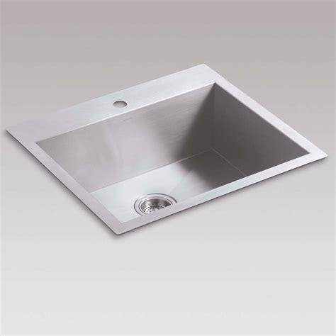 kitchen sink co kohler vault 3822 stainless steel sink kitchen sinks taps