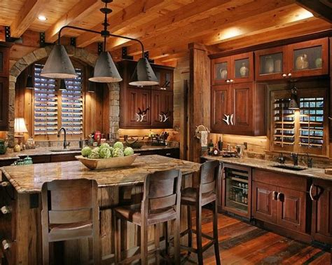 rustic cabin kitchen layout pictures best home 299 best rustic kitchens images on pinterest