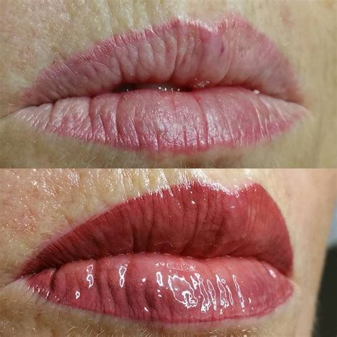 lip line and blend cosmetic tattoo cosmetic tattoo gold