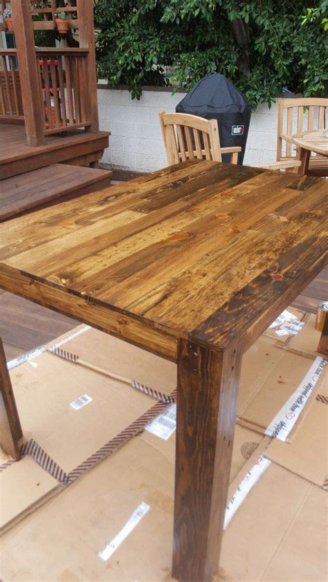 diy projects with pallets pallet dining table diy project table pallet