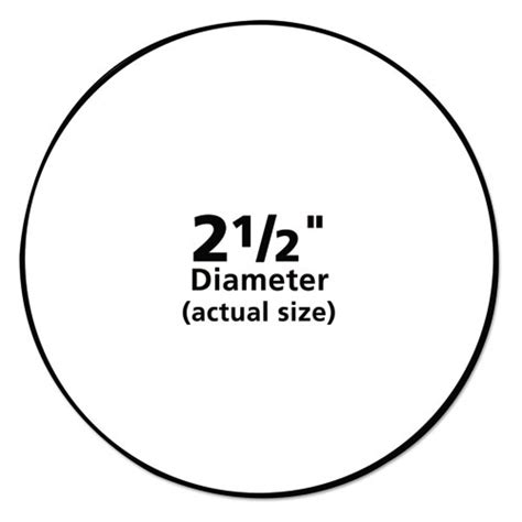 Avery 5294 Labels Avery 2 Inch Circle Label Template