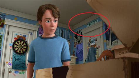 disney film secrets in andy s room is a street sign with w cutting blvd on