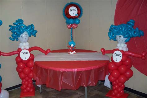 Thing 1 Thing 2 Baby Shower by Thing 1 And Thing 2 Baby Shower Ideas Photo 1 Of 5