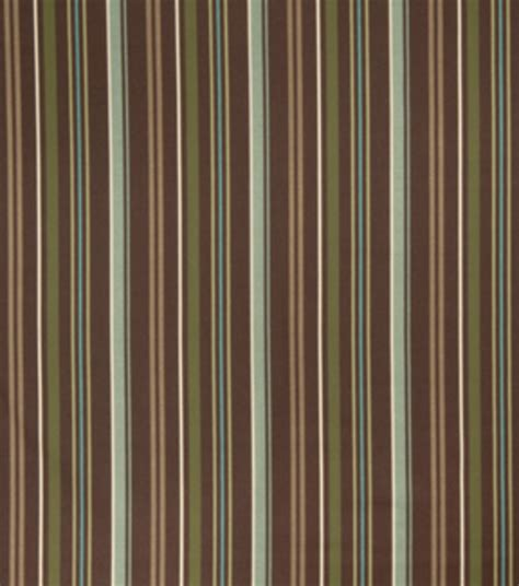 striped home decor fabric home decor print fabric currant chocolate stripe jo ann