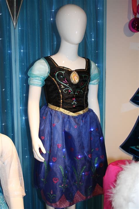musical light up dress preview frozen toys and merchandise coming later this
