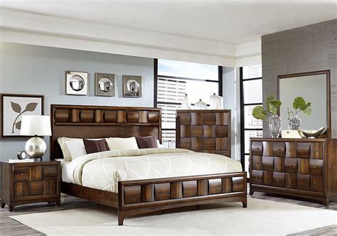 Porter Panel Bedroom Set by Porter Warm Walnut Panel Bedroom Set From Homelegance