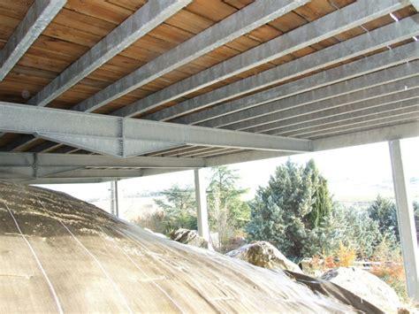 vtec terrasse terrasse bois structure acier wraste