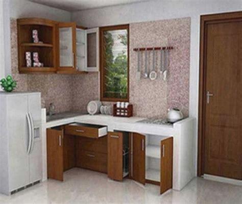 desain ruang dapur kecil minimalis tips mengatur dan menyimpan peralatan dapur cat rumah