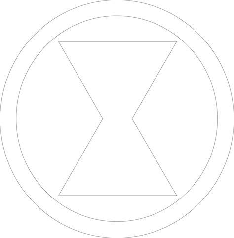 black widow symbol outline by mr droy on deviantart