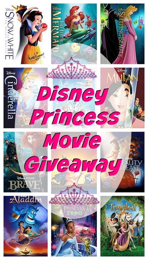 Disney Giveaway - disney princess movie collection giveaway dreambigprincess finding sanity in our