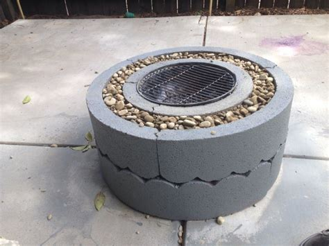 Cheap Firepit A Cheap Easy Quot Quot Pit Our Home