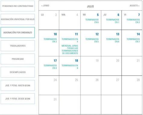 calendario de pagos auh mes de abril 2017 anses calendario de pagos consulta aqu 237 las fechas
