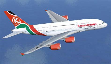 kenya airways begins  stop daily flight   york