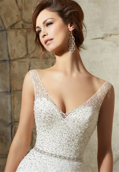 Wedding Dresses Accessories by Mori Bridal Beaded Belt Style 11210