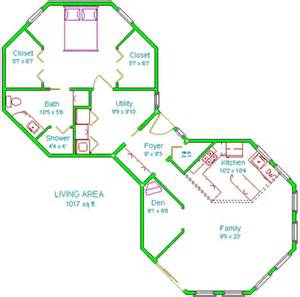 octagon shaped house plans details about octagon house plans home vintage blueprint