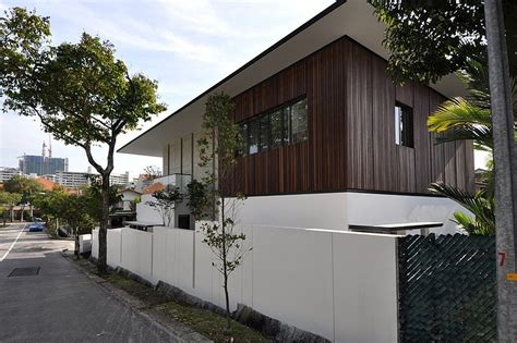 bungalow house design with terrace stylish bungalow inspired residence in singapore sunset
