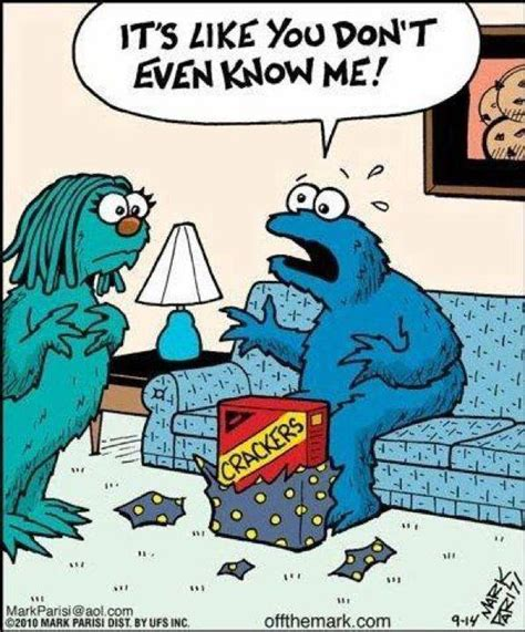 cookie monster problems funny pictures quotes pics