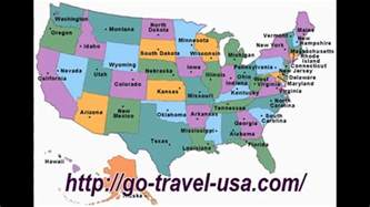 states with map of usa states youtube