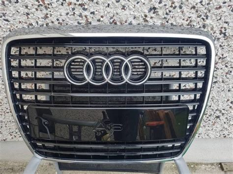 Audi A6 C6 Front Grill by Audi A6 C6 Black Gloss Front Grill From 2010 S Line Car