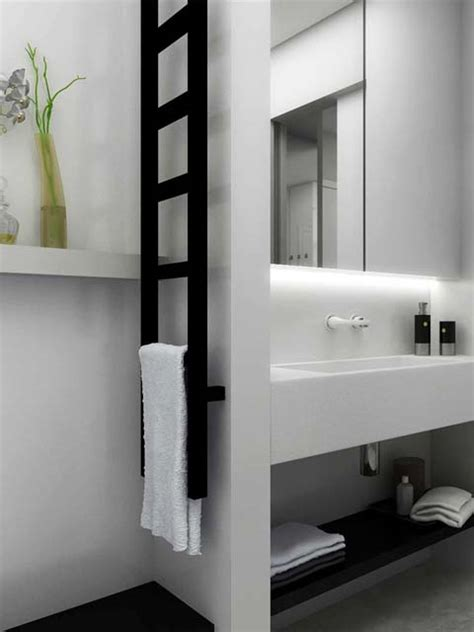 Gekko Towel Radiator Narrow Radiators Senia Bathroom