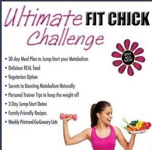 lose weight fast exercise plan at home take the ultimate fit chick challenge at home workouts 30 day meal plan printable grocery