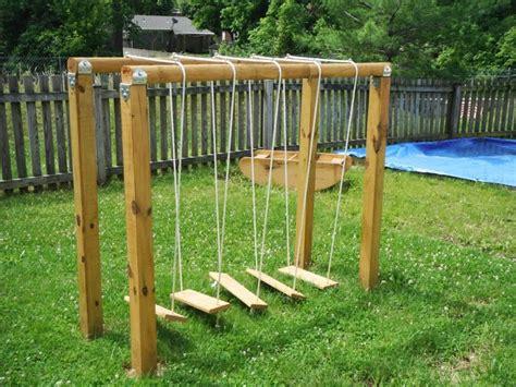 natural playground ideas backyard natural playground swinging bridge cdc outside space pinterest natural