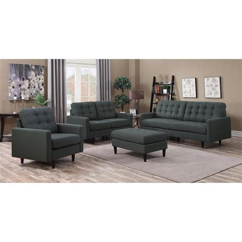 coaster living room furniture coaster kesson stationary living room group dunk