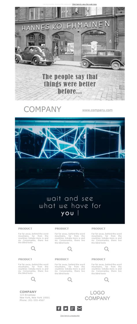 car dealer email templates 10 free and professional newsletter templates for car