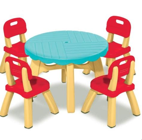 fisher price table and chair set fisher price summertime patio set with 4 chairs