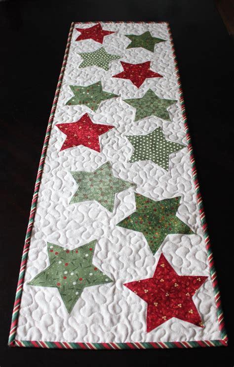 christmas star table runner kit christmas brights