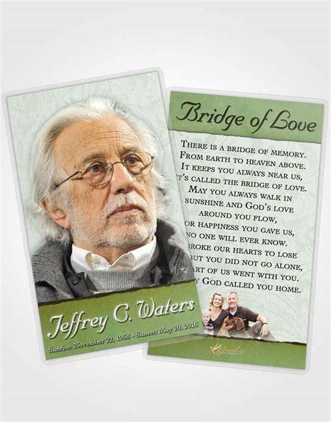 prayer cards for funerals template obituary template trifold brochure emerald destiny