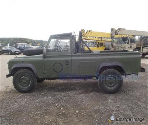 mod land rovers for sale mod sales vehicles used ex mod land rovers for