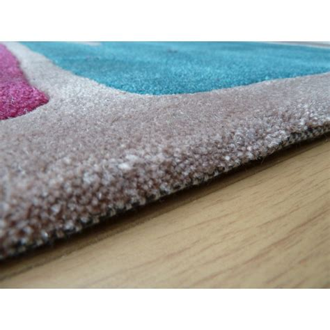 purple and teal rugs infinite mod teal purple rug only available at carpet runners uk