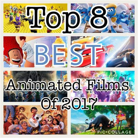 best animated movies 2017 top 8 best animated movies of 2017 cartoon amino