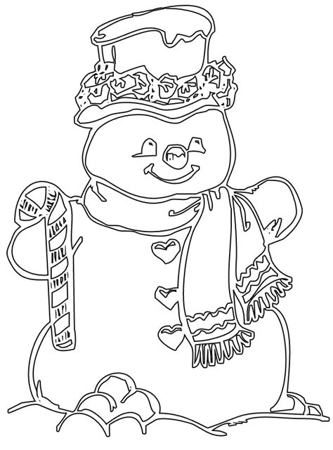 Christmas Snowman To Color New Calendar Template Site Blank Coloring Pages To Print
