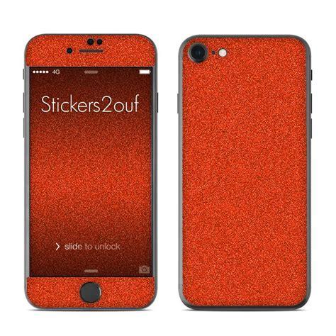 Skin Glitter Iphone 7 skin glitter orange iphone 7 apple