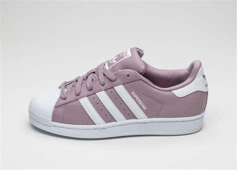 Adidas Superstar Classic W B adidas superstar w blanch purple vintage white